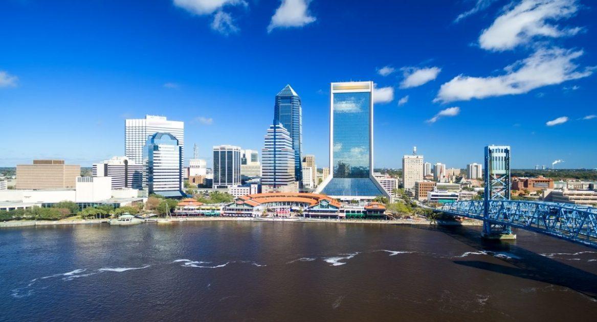 Jacksonville aerial view